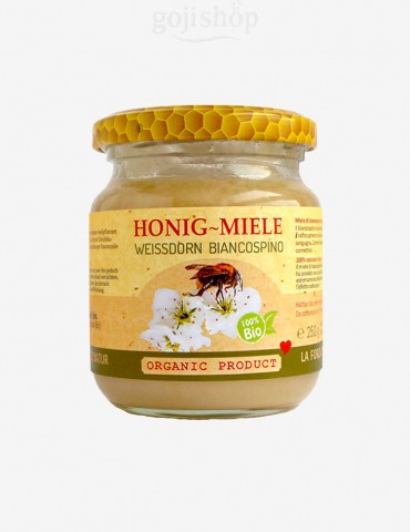 Miele di biancospino biologico