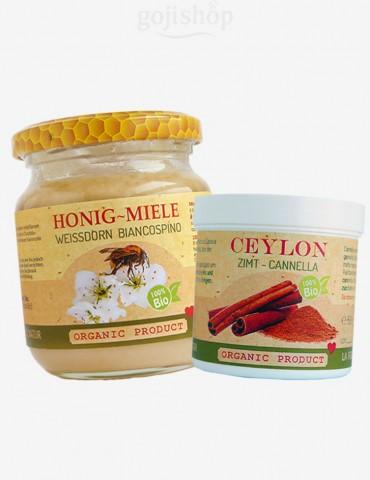 Cannella con miele - combinazione