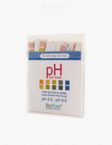 Cartine BasiCura per la misurazione del pH