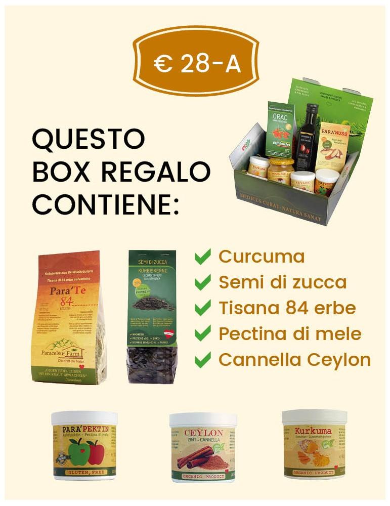 Confezione regalo prodotti naturali 28 Euro