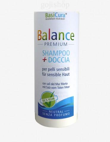 shampoo e doccia per pelli sensibili shower gel
