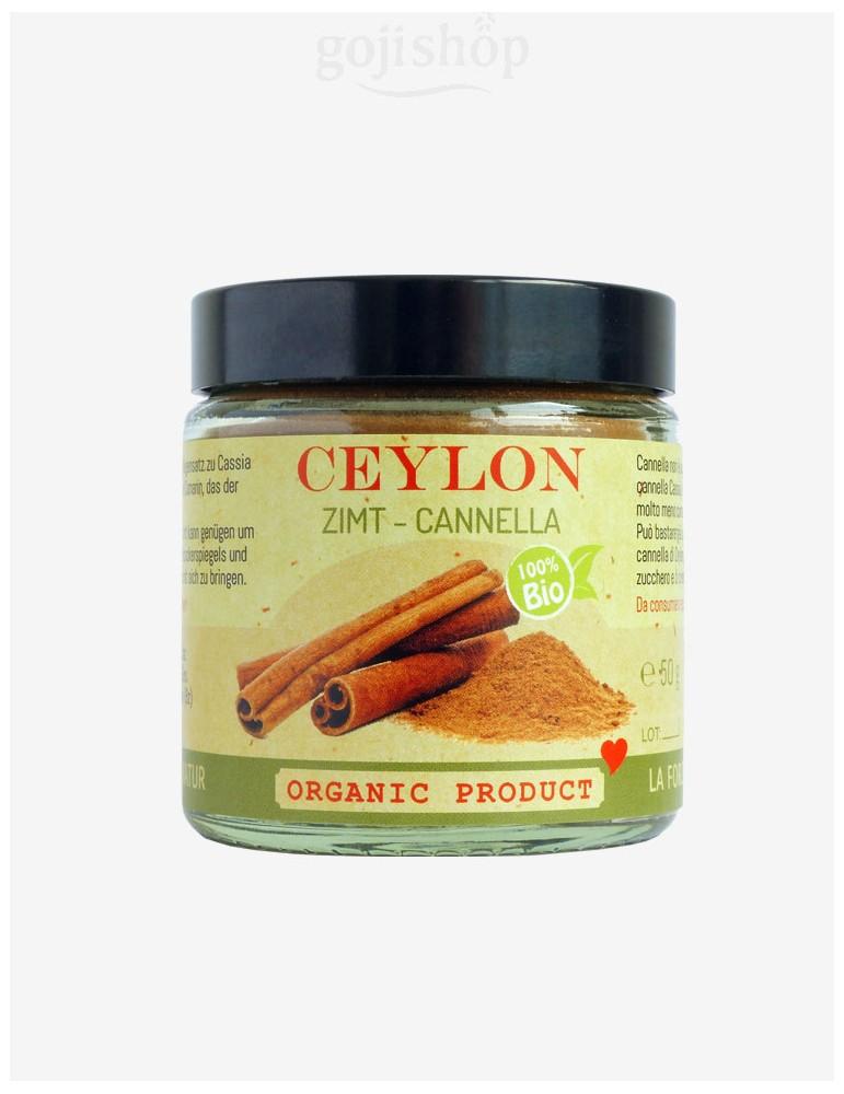 Cannella del Ceylon biologica