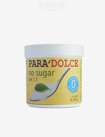 Zucchero senza zucchero con stevia ed eritritolo