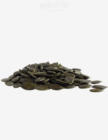 Semi di zucca verdi con ferro e zinco